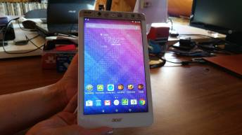 Test et avis tablette Acer Iconia One 8 couverture