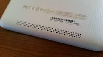 Test et avis tablette Acer Iconia One 8 haut parleurs
