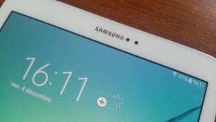Test et avis Tablette Samsung Galaxy Tab S2 camera avant