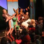 Bart de Graaff Foundation presenteert musical 'Kikker is jarig' in het Wilhelmina Kinderziekenhuis : Fotoreportage