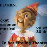 Win een familieticket voor 4 personen voor de musical 'Pinokkio'