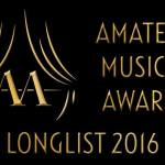 De Amateur musical awards longlist 2016 is bekend!