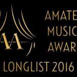De Amateur musical awards longlist 2016 is bekend!