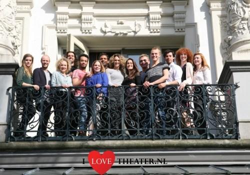 Backstage tour, cast A Chorus Line in theater Carré – FotoReportage