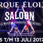 Cirque Éloize terug in Carré metacrobatisch muziekspektakel'Saloon'