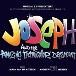 'LaJoel' ontwerpt kostuums Joseph and the Amazing Technicolor Dreamcoat
