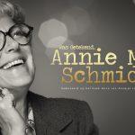 Laatste voorstelling Was Getekend, Annie M.G. Schmidt op 13 januari