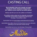 Wie wordt Aladdin?