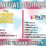 Audities: High School Musical & Hairspray in Hilversum