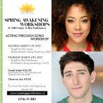 Spring Awakening workshops