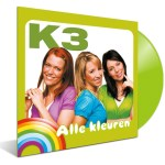 Speciaal voor Record Store Day 2021: K3 album Alle Kleuren uit 2000 voor het eerst op vinyl