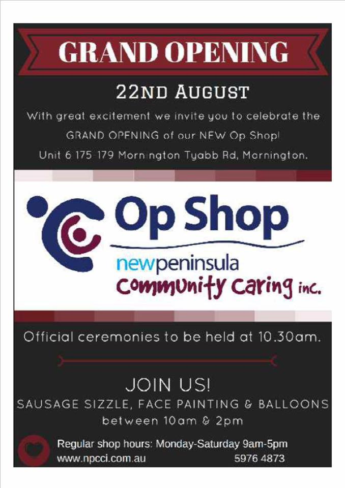 New Peninsula Baptist Church op Shop