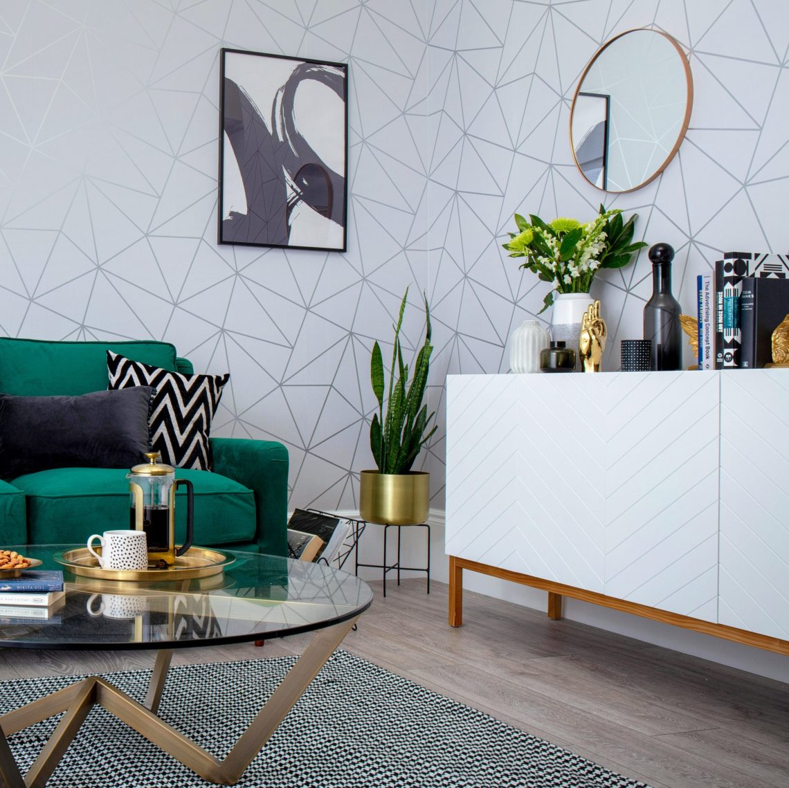 Grey Living Room Ideas We Ve Seen This Year I Love Wallpaper