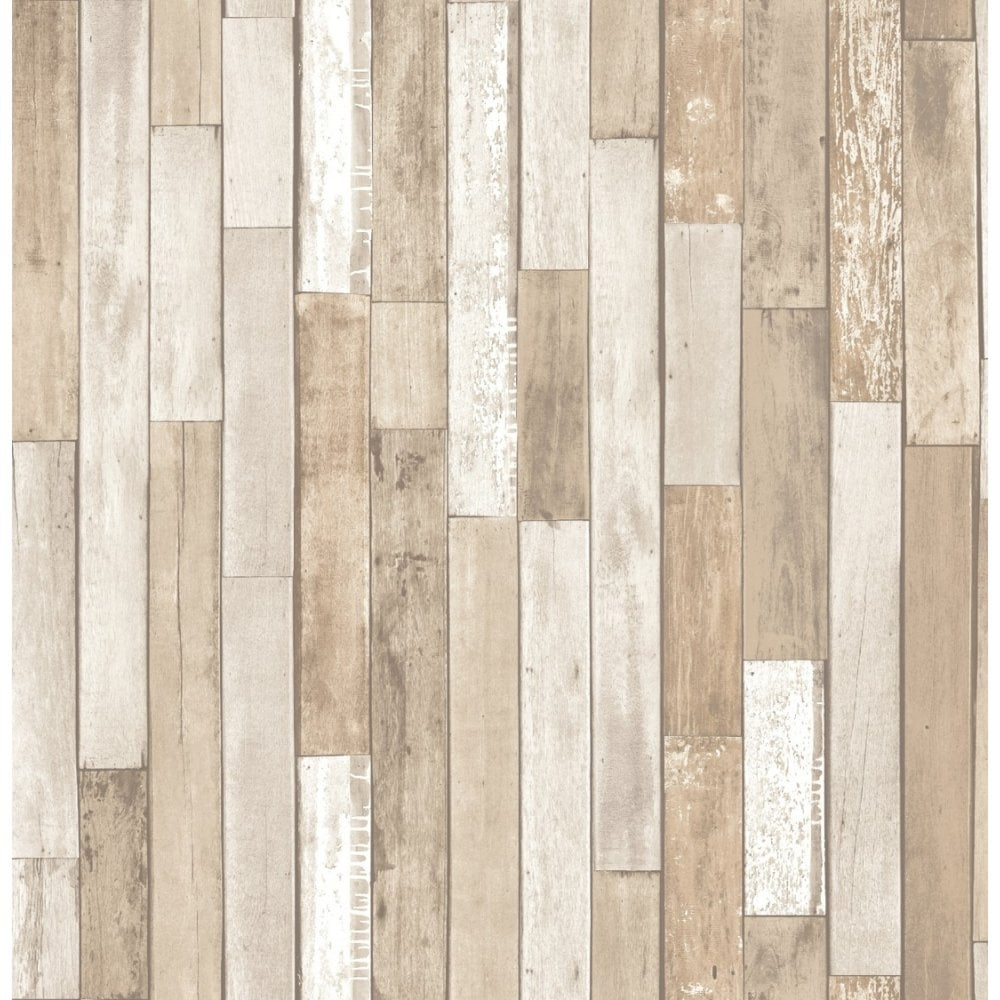 Fine Decor Distinctive Parquet Wood Reclaim Wallpaper