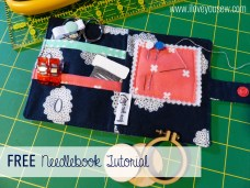 Love You Sew Needlebook Tutorial