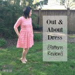 Out & About Dress {Pattern Review}