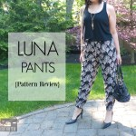 Luna Pants {Pattern Review}