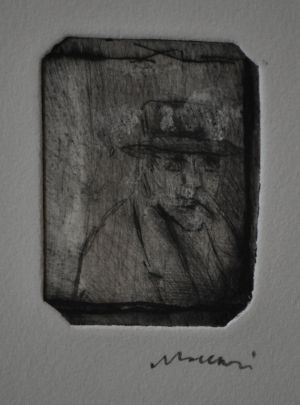 ritratto-di-gabriele-dannunzio-mino-maccari-1980