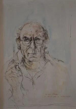 studio-per-un-autoritratto-walter-piacesi-1995