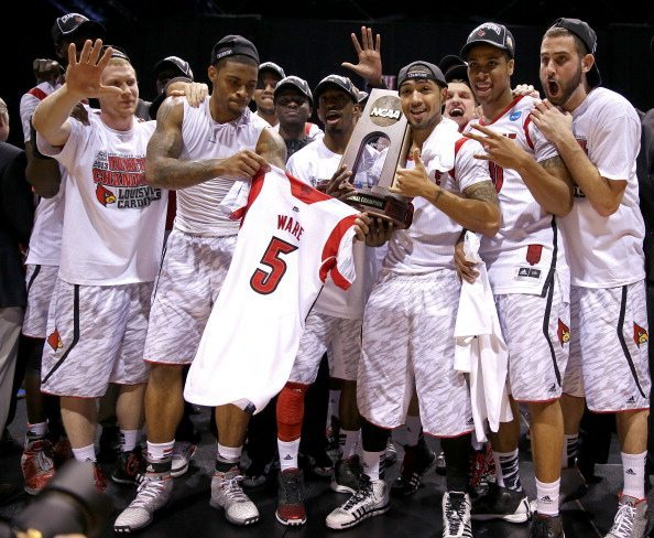 Il Louisville dedica vittoria a Kevin Ware | © Andy Lyons/Getty Images