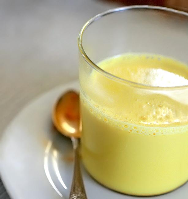 latte d'oro ricetta