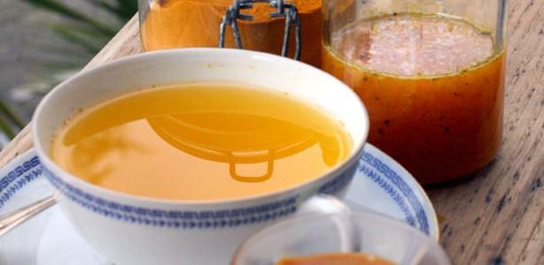 Bomba di miele, curcuma e zenzero