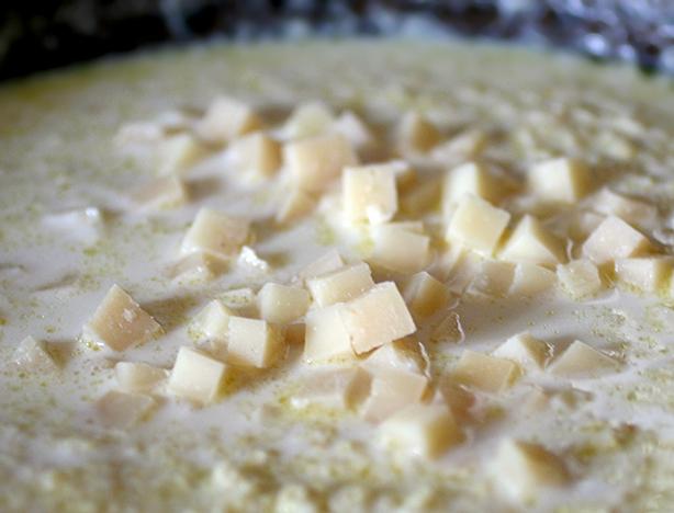 miglio con il formaggio