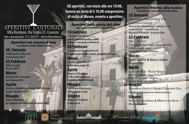 Appuntamenti _Aperitivi Culturali_