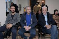 da sinistra Matteo Zenardi, Maximiliano Gualtieri e Federico Morabito