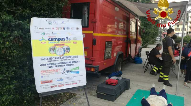 POMPIEROPOLI-Campus 3 S ad Avellino