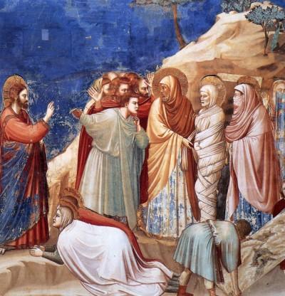 (Giotto) E gli amici li tratti così, figurati gli altri.