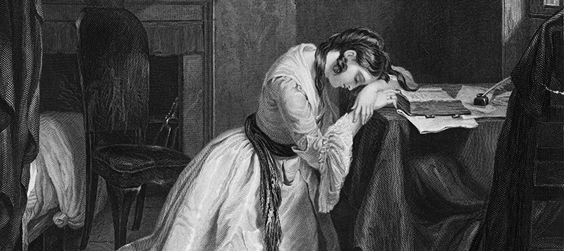 Despairing Woman