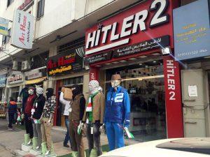 Gaza, il negozio 'Hitler 2' nel centro di Gaza City ( foto: corrispondente ANSA da Gaza ) - DA A. BAQUIS