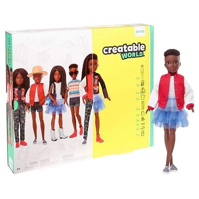 Barbie senza gender della Mattel