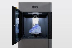 La stampante 3D Neo800 di RPS destinata alla produzione di parti di grandi dimensioni con elevata qualità superficiale, precisione e dettagli superiori