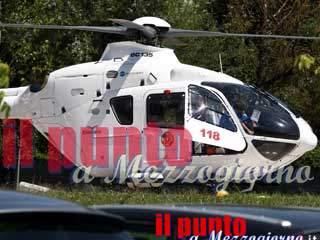 Incidente stradale ad Alatri, un ferito grave elitrasportato a Roma