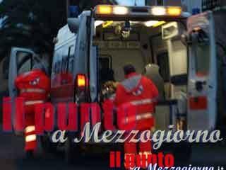 Esplosione mentre si prepara la festa di San Cataldo a Supino, ferito venditore di noccioline