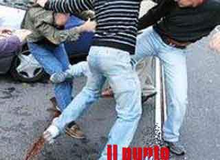 Rissa nella notte a Fiuggi, quattro giovani arrestati