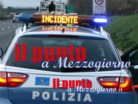 Giovane muore investito da un camion sull'A1 ad Anagni