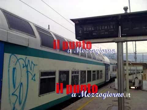 Viaggiatore molesto sulla tratta Cassino Roma, denunciato 30enne