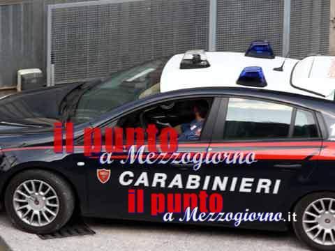 """Ceprano, i carabinieri intervengono per un infortunio sul lavoro e scoprono due lavoratori """"in nero"""""""