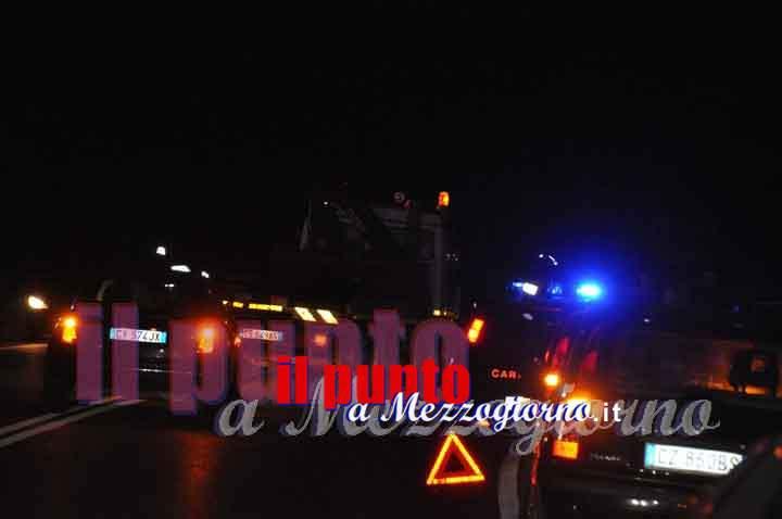 Incidente stradale ad Alatri, tre giovani feriti, uno è in gravi condizioni