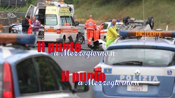 Incidente sull'A1 a Cassino, cinque operai feriti