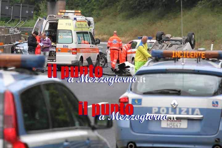 Tragedia sull'A1 nel frusinate, muore 69enne
