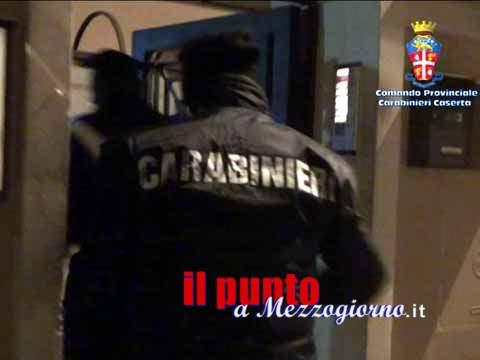 Usura ed estorsione, 10 arresti affiliati clan Belforte tra le province di Frosinone e Caserta