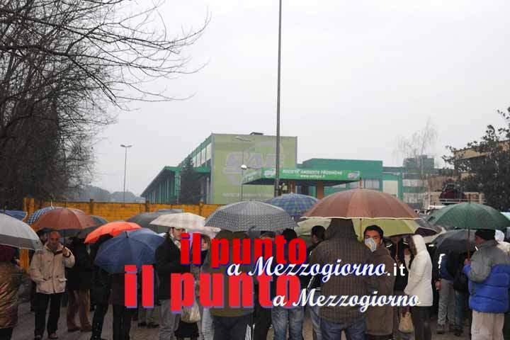 Allarme cattivo odore a Colfelice, tecnici Arpa Lazio al lavoro