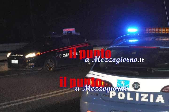 Rissa in casa tra stranieri a Cassino, tre arresti