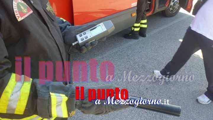 Fuga di gas in centro a Frosinone, chiuso lungo tratto di via Aldo Moro