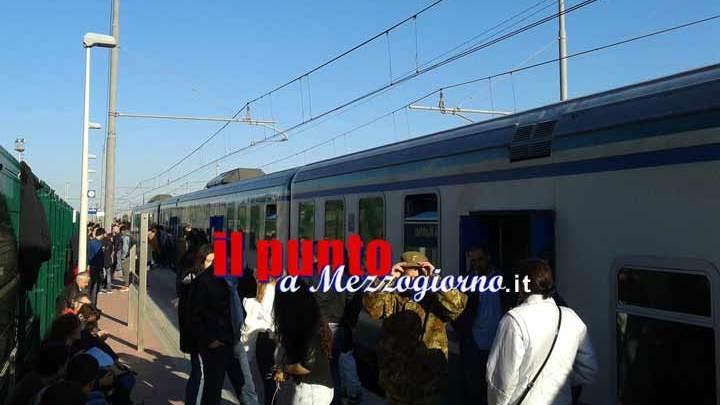 Problema alla rete elettrica, treni fermi sulla tratta Casisno – Roma