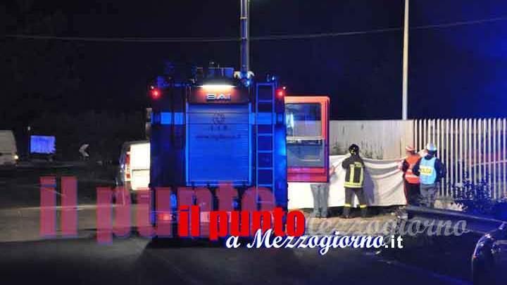 Schianto sulla superstrada Frosinone Sora, tre feriti e rischio esplosione per fuga di gas